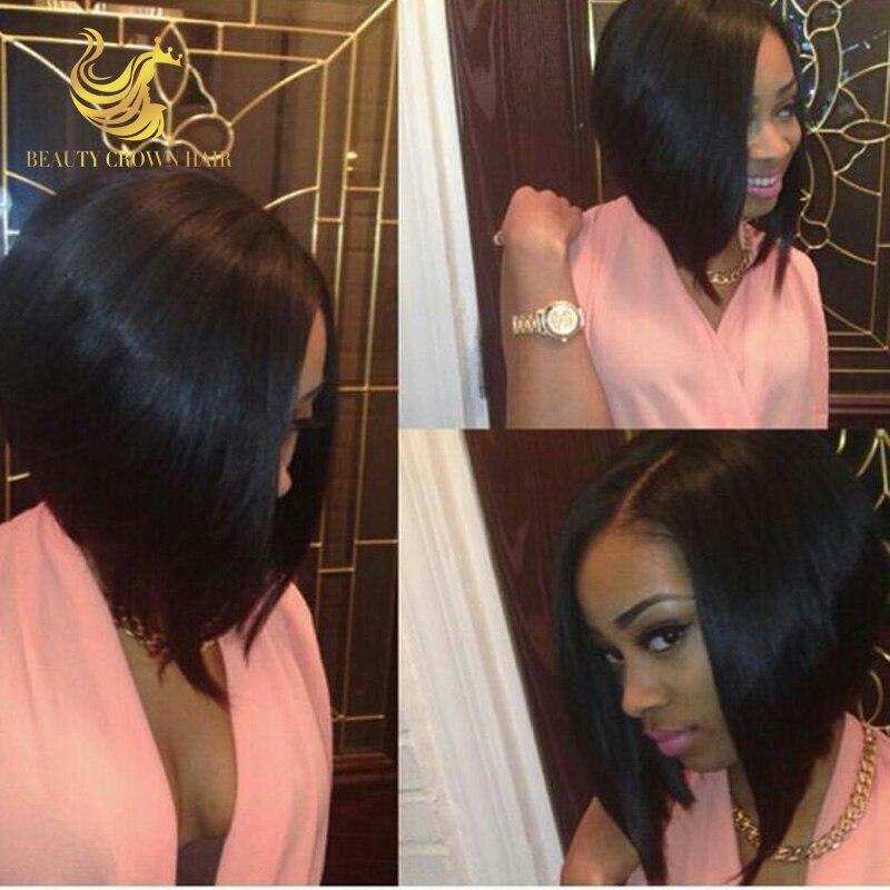 Straight Brazilian Silk Base Bob Full Lace Human Hair Wig With Baby Hair Glueless Silk Top  U Part Short Bob Wig For Black Women смеситель cezares lord для биде с донным клапаном lord bs2 01
