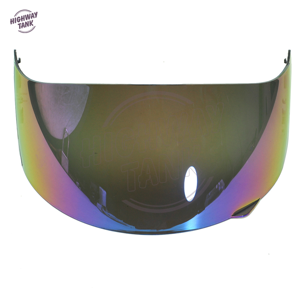 1 Pcs Iridium Motorcycle Full Face Helmet Visor Shield Case for AGV GP Pro S4 Airtech