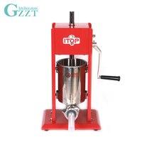 Руководство колбаса писака вертикальной колбаса наполнитель спрей paintd тела ручной Колбаса чайник машина Кухня инструменты 3L