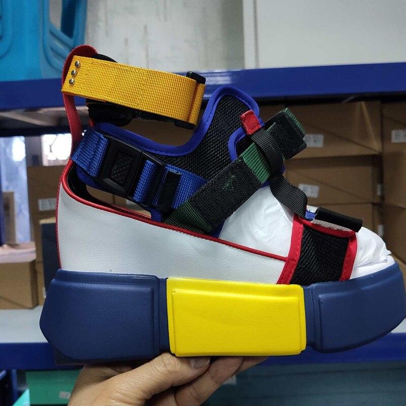 HTB159rBOmzqK1RjSZPcq6zTepXa1 SWONCO Women's Sandals 2019 Summer High Heels Sandals For Women Chunky Sandal Womens Wedge Platform Shoes Casual Summer Sandal