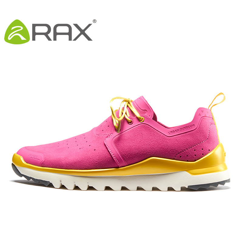 Rax Climbing Shoes Women Sports Shoes 2017 New Spring All Terrain Hiking Shoes Non Slip Damping Off Road Outdoor Shoes #B2526