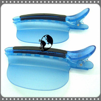 2016 New Product Dyed Clip Printable Wholesale Easy Speed Separator Clips Blue Color 1 Piece Hair