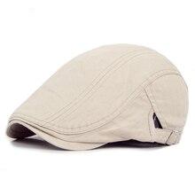 Мужская Ретро Повседневная шляпа плюща лето зима Гольф газетчик вождения таксиста плоская кепка