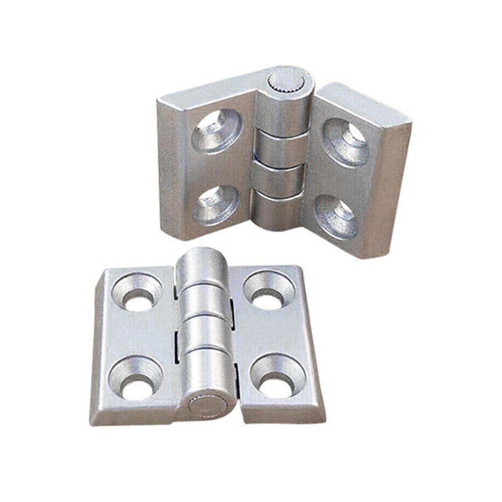1 Stück 2020 3030 3040 4040 Aluminium Profil Metall Scharnier, Zink-legierung Scharnier Mit Schrauben Optional Online Rabatt