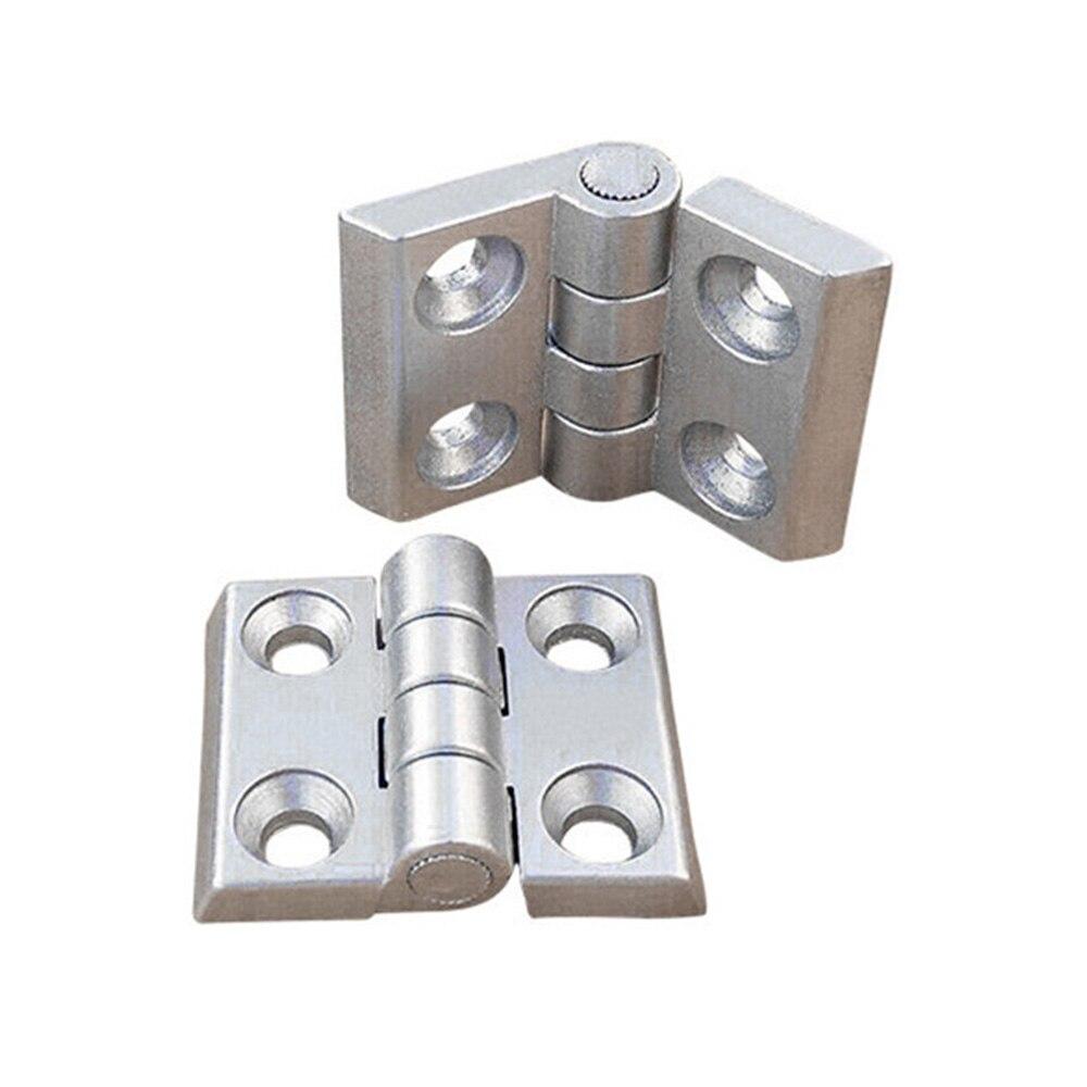 1PC 2020 3030 3040 4040 Aluminum Profile Metal Hinge, Zinc Alloy Hinge With Screws Optional