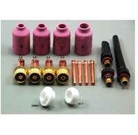 Retail Wholesale Air Cutting Welding Kit Tig Torch Accessories Kit Long Custom SR PTA DB WP