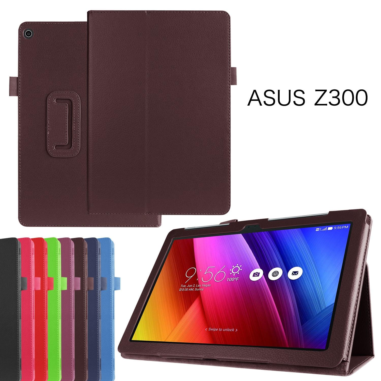 PU Leather cover case For Asus Zenpad 10 Z300CL Z300CG Z300C Z300 Z300CNL Three Folded Sta