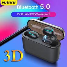 Ture Wireless Earphones HBQ Q32 Bluetooth 5.0 Headset With Mic Mini Earbud In-Ear Cordless Earphone PK i10 TWS