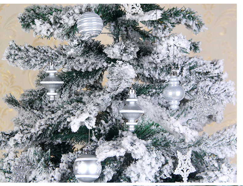 12 inhoo 80pcsset Christmas Tree Ball Ornaments Gift Polystyrene Balls Xmas Party Hanging Ball Merry Christmas Decor for Home 2019