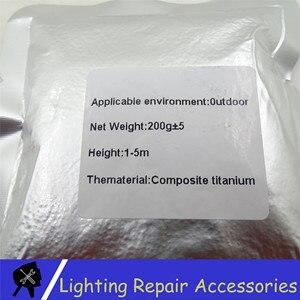 Image 5 - 10 Bags/lots TI ผง 200 กรัม/ถุงกลางแจ้งเย็น Spark Sparkler โลหะไทเทเนียมสำหรับเย็นเปลวไฟผล Firework เครื่องผง