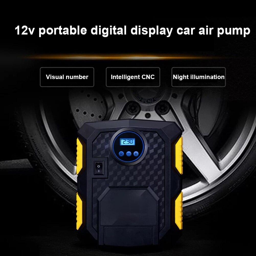 Pompe de gonflage de pneu numérique DC 12 V compresseur d'air électrique Portable rapide pour voiture SUV M8617