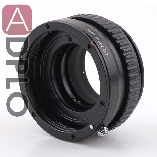 Adjustable Focusing Macro-Infinity Adapter Suit For Canon EOS Lens to Micro M4/3 Camera