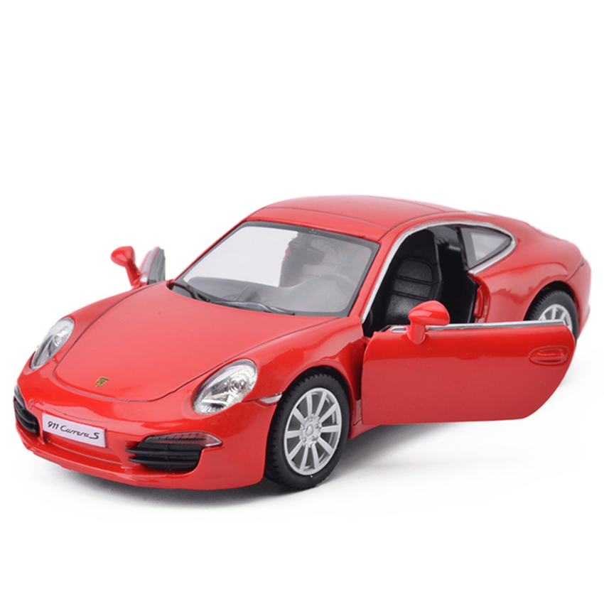 R 1:36 Toy Vehicles Alloy Pull Back 911 Coupe Model Sports Car Racing Toys For Children Gift Collection Genuine License kids boy