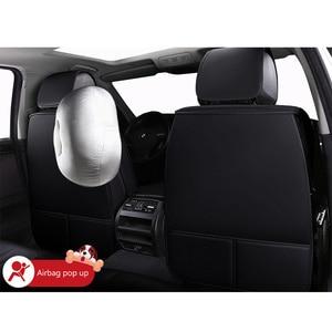Image 3 - Giày Da Hoạt Hình Nệm ghế ngồi Xe ô tô cho xe Nissan Teana J31 J32 terrano 2 Tiida wingroad X TRAIL T30 T31 T32 xtrail 2018