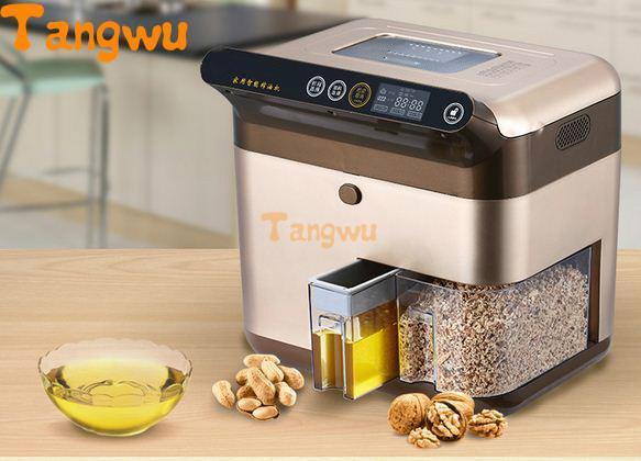 Livraison gratuite automatique presse à froid machine famille petit intelligent commercial multifonctionnel friture huile machine presseurs d'huile