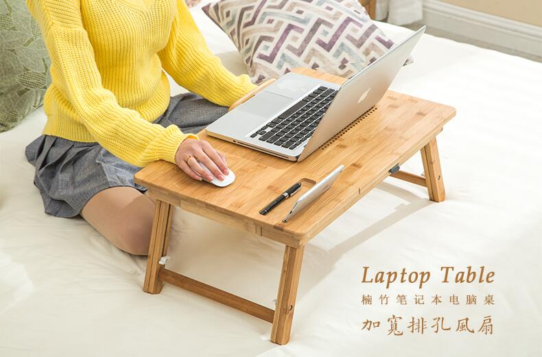 Superb 1PC Multi Function Computer Desk Smart Lightweight Heat Dissipation Fast  Laptop Desk Can Be Folded Hot Cheap SY28D5