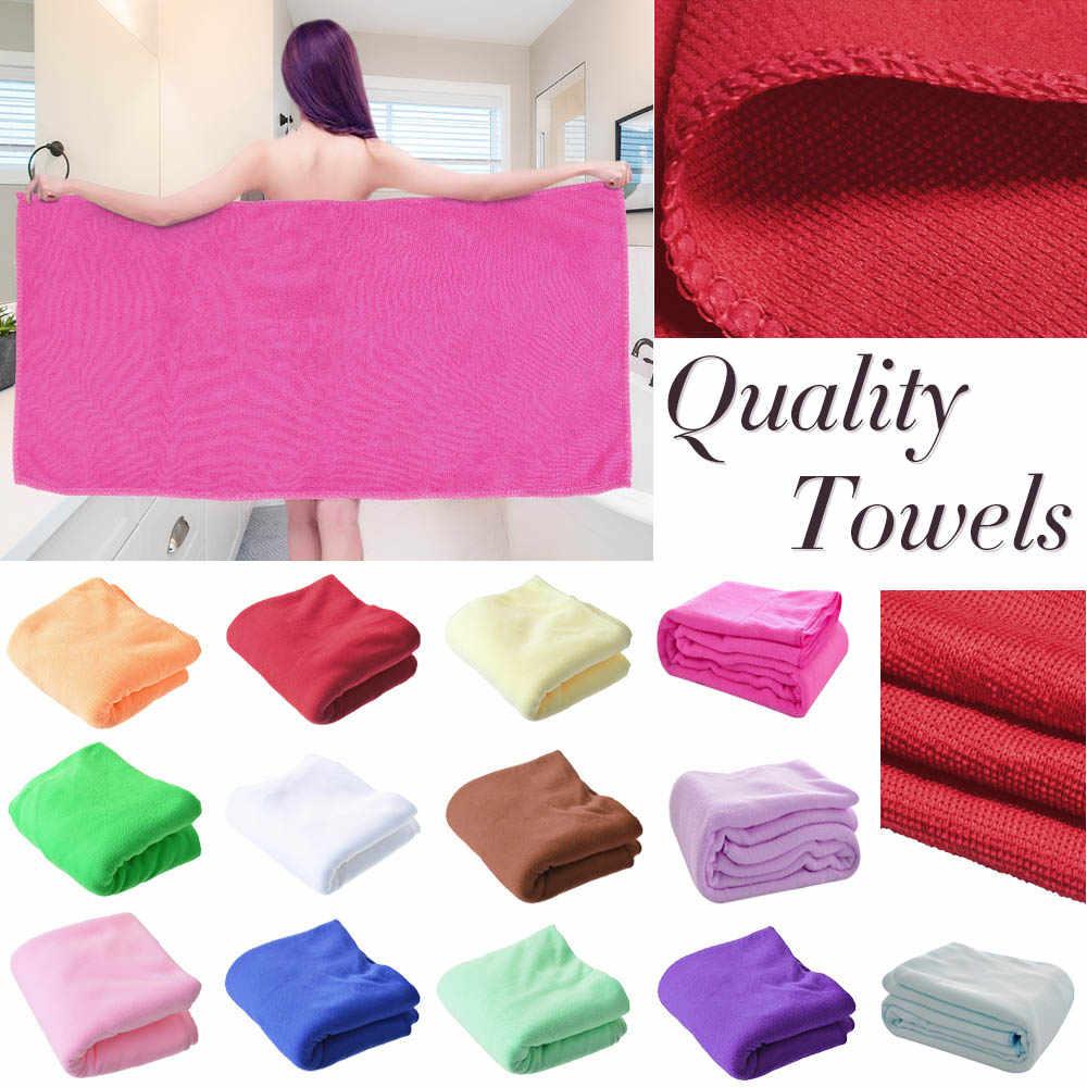 DIDIHOU letni ręcznik plażowy z mikrofibry na ręczniki kąpielowe Super miękka woda aborbent sport Aqua Gym ręczniki z mikrofibry 140x70cm