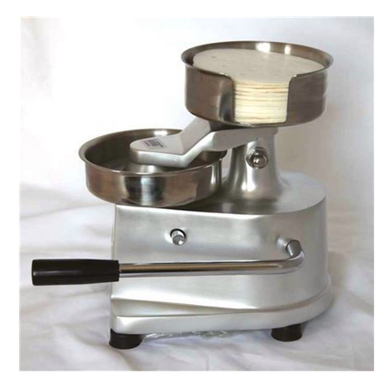 Commercial home use manual hamburger patty making machine mini burger meat pie forming machine meat pie maker hand press hamburger patty making forming machine