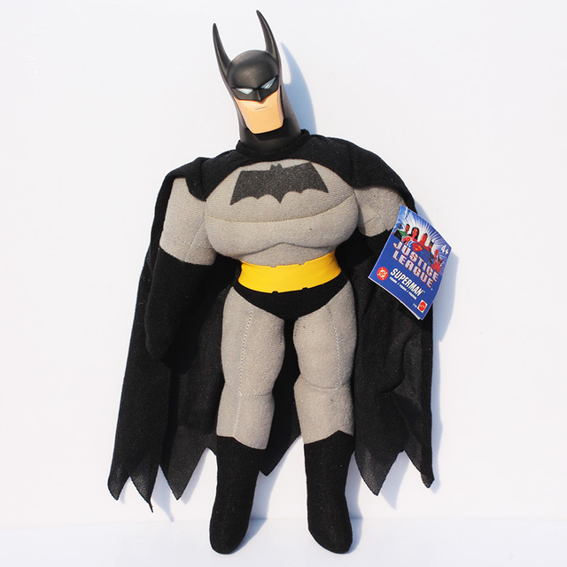 """Nueva llegada de 18 """"/45 CM Superhéroes Los Vengadores Batman Peluches Suave Peluche Muñecas Juguetes Para Niños"""