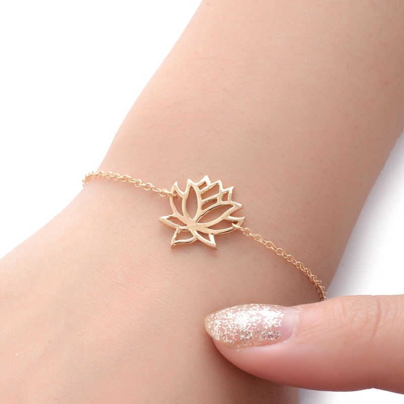 Stainless Steel Gold Charm...