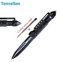 Tenvellon Forniture di Autodifesa Tactical Pen Semplice Cornici e articoli da esposizione In Acciaio Al Tungsteno di Difesa Personale di Sicurezza di Protezione Defensa Personale
