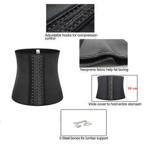 Image 4 - Ceinture dentraînement en néoprène pour la taille, sculpter le corps, ceinture dentraînement pour brûler les graisses, perte de poids, bande de soutien du dos, cintrage de la taille