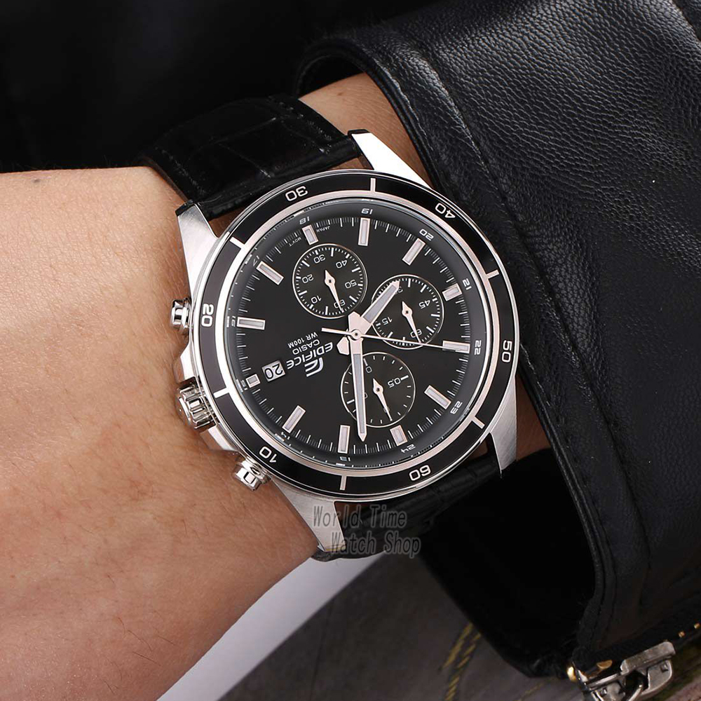 Image 4 - Casio watch Edifice watch men brand luxury quartz Waterproof Chronograph men watch racing Sport military Watch relogio masculino-in Quartz Watches from Watches