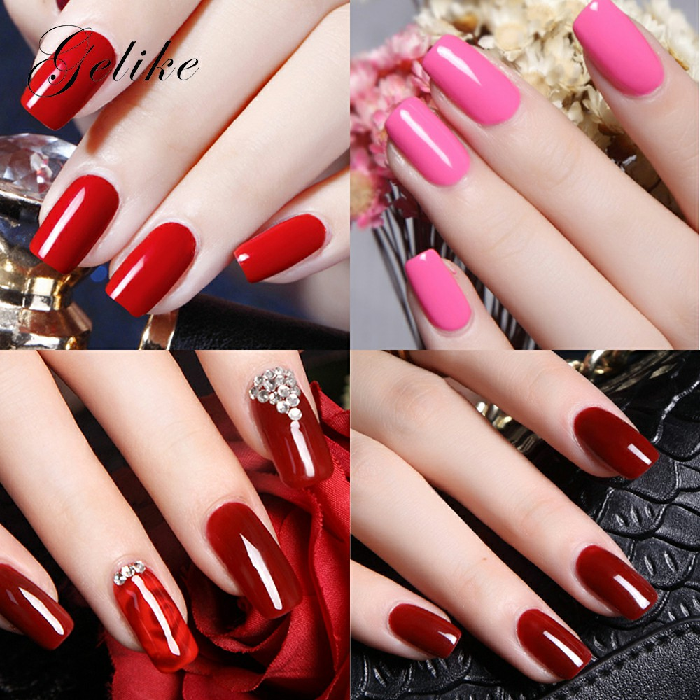 Image 5 - Gelike Nail Dip Powder Set Nails Colors Without Lamp Dipping System Acrylic Clear Natural Manicure Brand Chrome French Extension-in Nail Glitter from Beauty & Health
