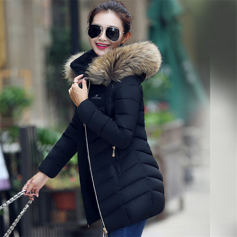 New 2015 Jacket Women Winter Coat Thicken Slim Female faux Fur ...