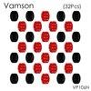 Vamson 32pcs/set Flat Surface Mount Base+3M Sticker Adhesive For Gopro Hero 5 4 3+Xiaomi Yi SJ400 Sport Camera VP106N