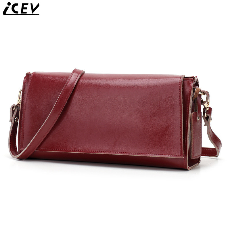 2018 New Vintage Simple Flap Cowhide Crossbody Bags for Women Messenger Bags Handbags Women Famous Brands Genuine Leather Bags 2017 new female genuine leather handbags first layer of cowhide fashion simple women shoulder messenger bags bucket bags