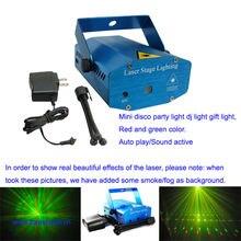 Лазерный мини светильник для шоу Рождественское украшение лазерный