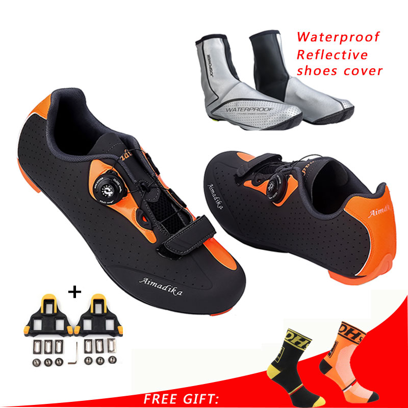 JOSPOWER Bike Shoes Self locking Road Cycling Shoes MTB Shoes Men Mountain Bicycle Shoes Sapatilha Ciclismo Mtb Sepatu