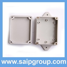 Gray Colour Small Size Cheapest Plastic Enclosure Waterproof Enclosure With Ear SP-F1-6
