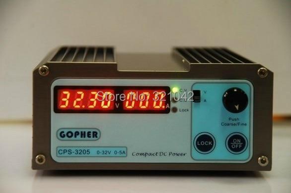 CPS-3205 160W (110Vac/ 220Vac) 0-32V/0-5A,Compact Digital Adjustable DC Power Supply CPS3205 cps 3205 160w 110vac 220vac 0 32v 0 5a compact digital adjustable dc power supply
