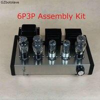 Новый DIY 6P3P Главная Аудио лампового усилителя новый компьютерный чехол 6N8P чистый полный комплект ламповый усилитель сборки DIY Наборы 8 Вт + 8