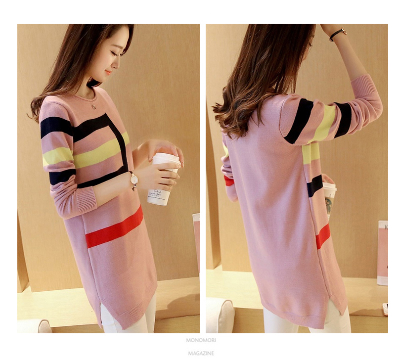 18 DRL sweater women Basic woman sweater pullovers long sleeve Jumper Long Sleeve Sweaters Autumn Winter pull femme hiver 4