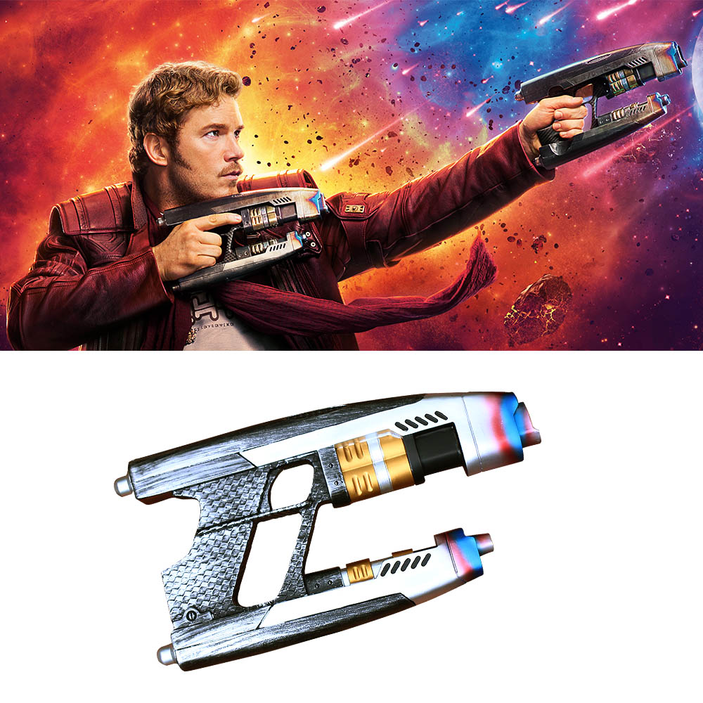 Costumes & Accessories Novelty & Special Use Humor A Pair Guns Cosplay Avengers Infinity War Star Lord Gun Weapon A Pair Handmade Props Adult Halloween Party Prop
