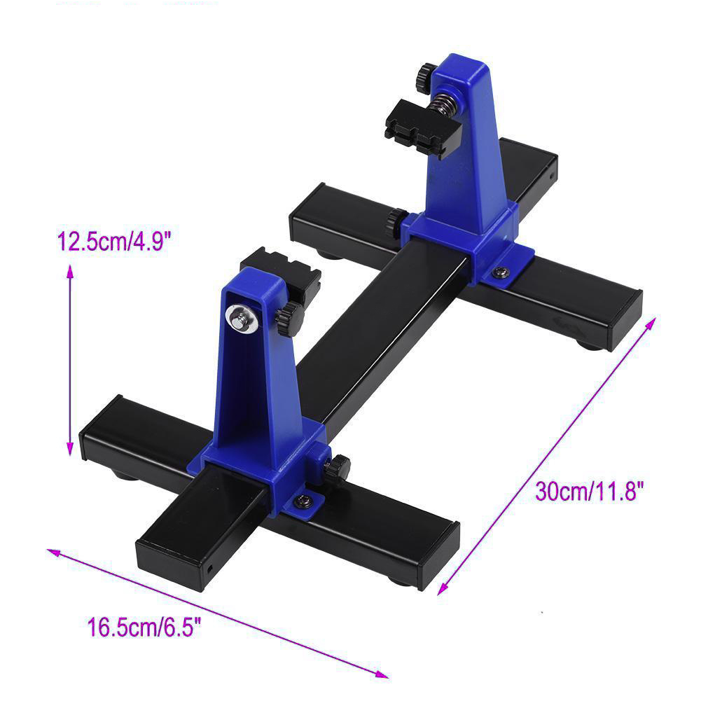 Hot Sale 1x Adjustable Pcb Holder Printed Circuit Board Soldering Pcba Or Assembly Clamp N
