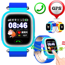 Gps/wifi/gprs tracker smart watch jm12 für kind kind kinder sicher locator sos gsm sim-karte telefon für ios android htc Smartwatch