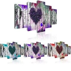 DIY diament haft 5D diament malarstwo Home Sweet Home Cross Stitch pełne placu dekoracja z mozaiki kryształowej