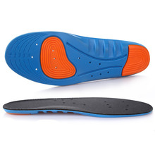 Shock Insoles Pu Absorbent Breathable Hipoly Deodorant Protective Foot Shoe Insole Accessoires Cushions