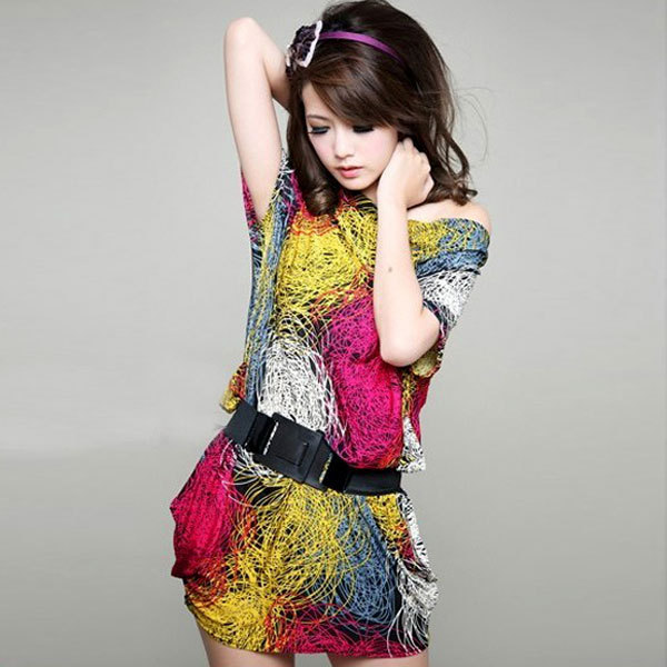 2012 summer casual womens clothes summer short sleeve