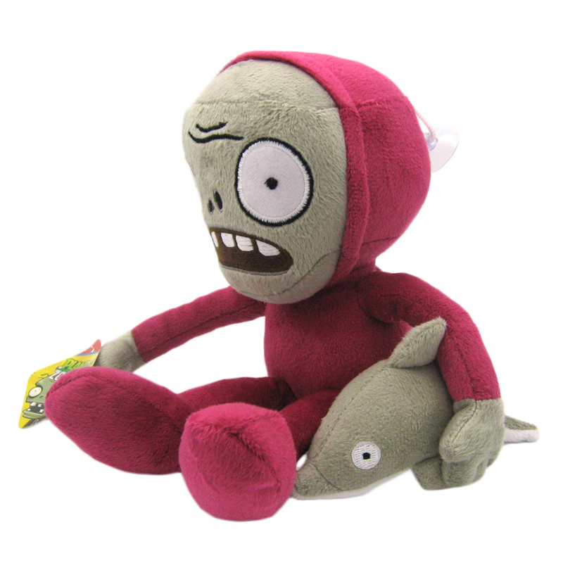 Rider Stuffed Zombies Soft Dolphin Toys Toy Zombie Plants Plush