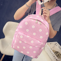Wholesale 2017 New PU Backpack Women S Casual Small Fresh Small Backpack Schoolbag Wind Printing