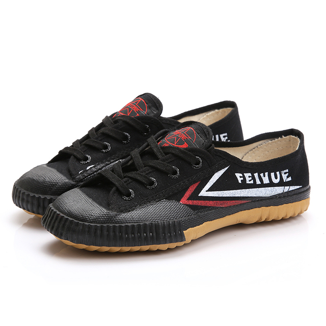 Chinese FEIYUE kung fu martial arts shoes track and field running shoes anti - slip canvas shoes 1-511 1
