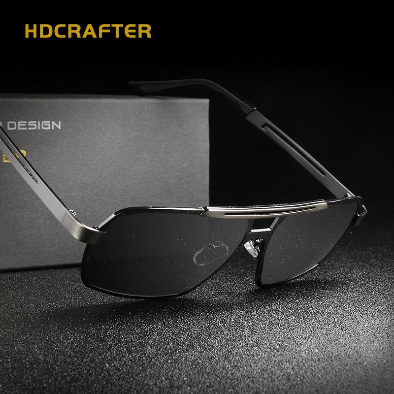 9f1adde9d HDCRAFTER Polarized Glasses Men Sunglasses Gunes Gozlogo Men's ...