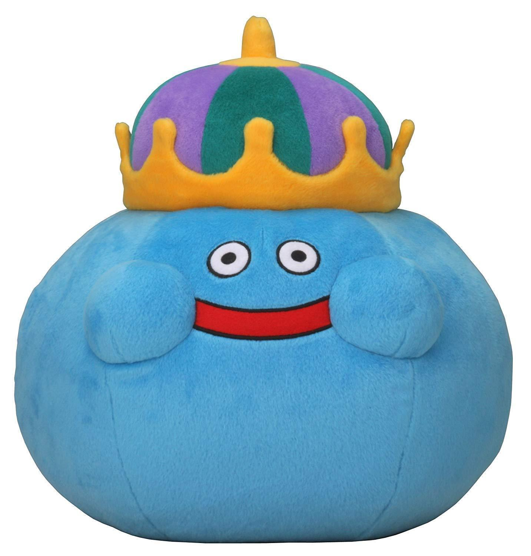Dragon Quest Smile Slime Plush Doll King Slime L Plush 350mm