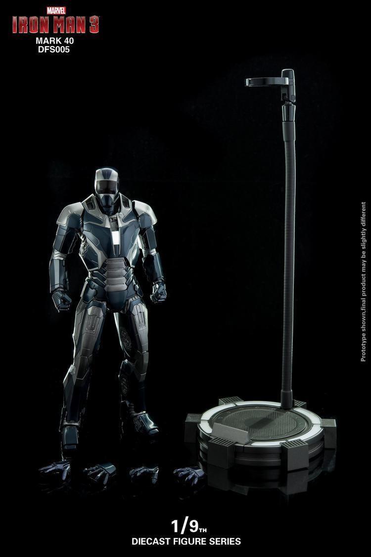 King Arts 1:9 Metal DFS005 MK40 Mark40 Iron Man Figure Model Toy Action Gift