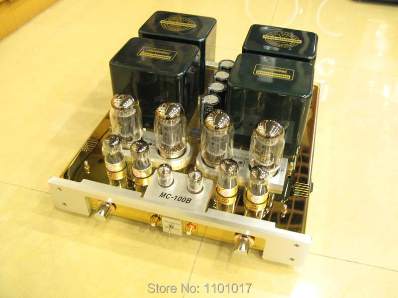 Best YaQin MC-100B KT88 Push-Pull tube amplifier HIFI EXQUIS 6SN7 12ax7 Lamp AMP MS100B гель лак yllozure yllozure yl001lwjuw60